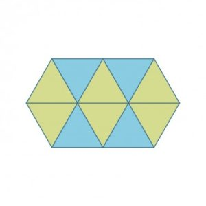 Studio Equilateral Triangle-4 5/8