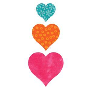 "GO! Heart-2"", 3"", 4"" (AQ55029)"