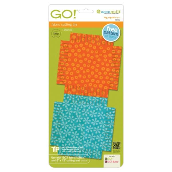 "GO! Rag Square-5 1/4"" (55033) pkg"