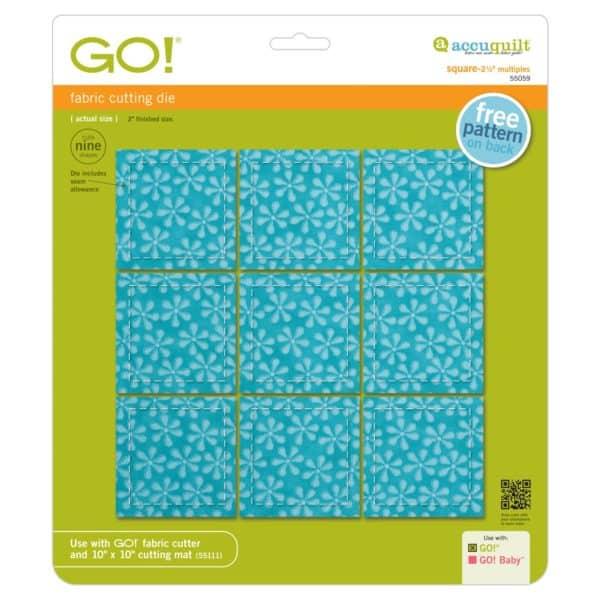 """GO! Square-2 1/2"""" Multiples (AQ55059)"""