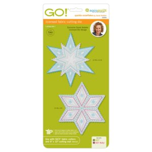 GO! Sparkle Snowflakes by Sarah Vedeler-0