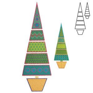 GO! Sparkle Slim Tree by Sarah Vedeler-2497