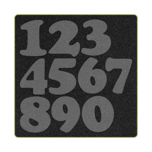 GO! Carefree Numbers (AQ55099) - Two Tone Foam
