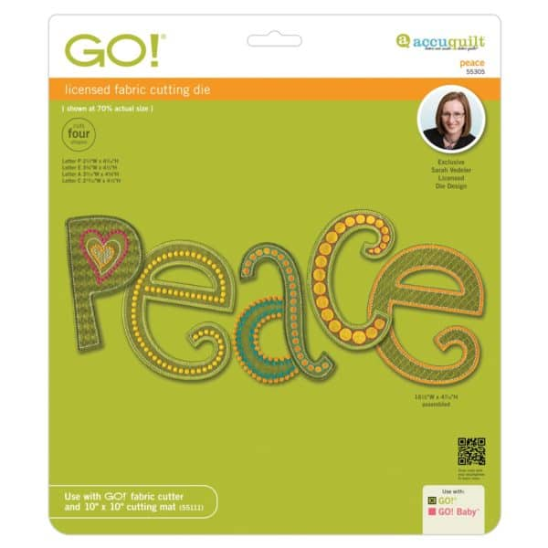 GO! Peace by Sarah Vedeler (55305)