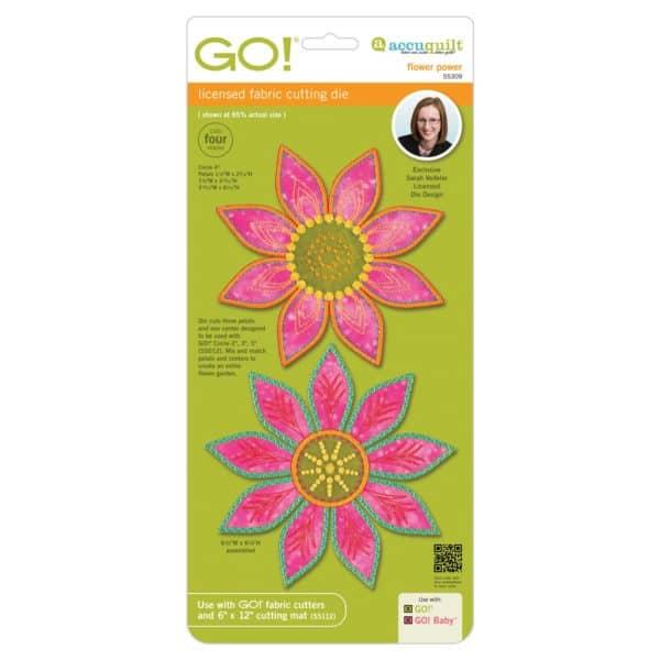 GO! Flower Power by Sarah Vedeler (AQ55309)
