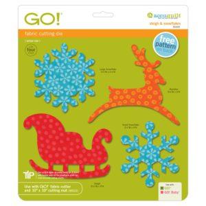 GO! Sleigh and Snowflake (AQ55322)