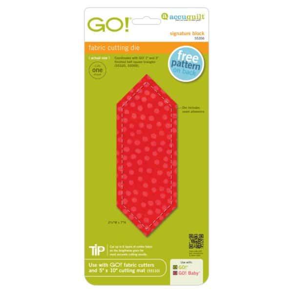 GO! Signature Block (AQ55356)