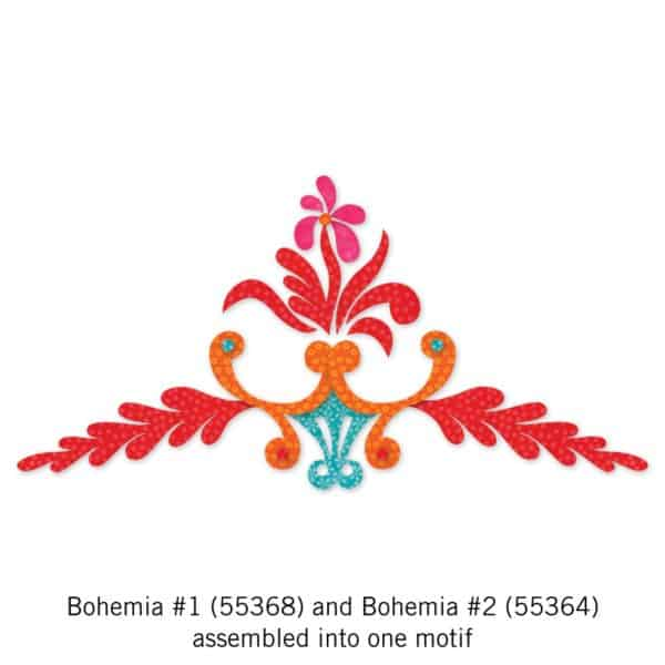 GO! Bohemia #1 and #2 - Shown assembled together.