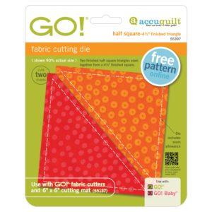GO! Half Square - 4 1/2