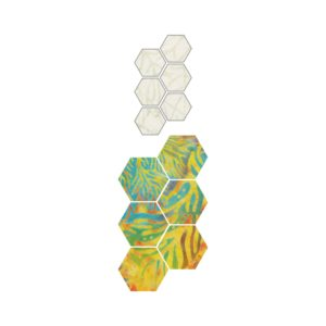 """GO! English Paper Piecing Hexagon-1/2"""" Finished Sides-1780"""