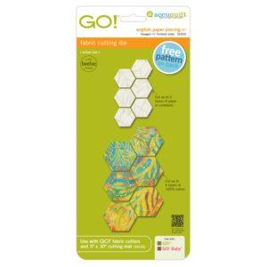 GO! English Paper Piecing Hexagon-1/2