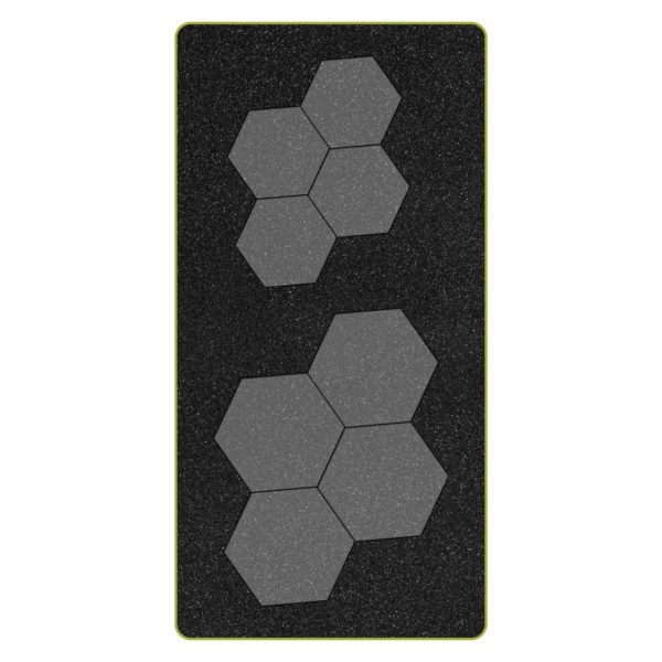 """GO! English Paper Piecing Hexagon-1"""" Finished Sides-1787"""