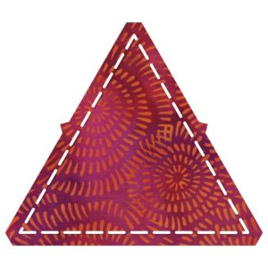 """GO! Equilateral Triangle-4 1/2"""" Sides (4 1/4"""" Finished)-1797"""
