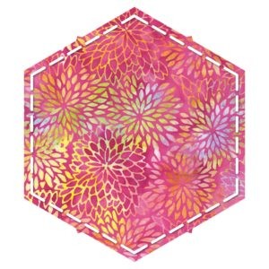 """GO! Hexagon-4 1/2"""" Sides (4 1/4"""" Finished)-1793"""