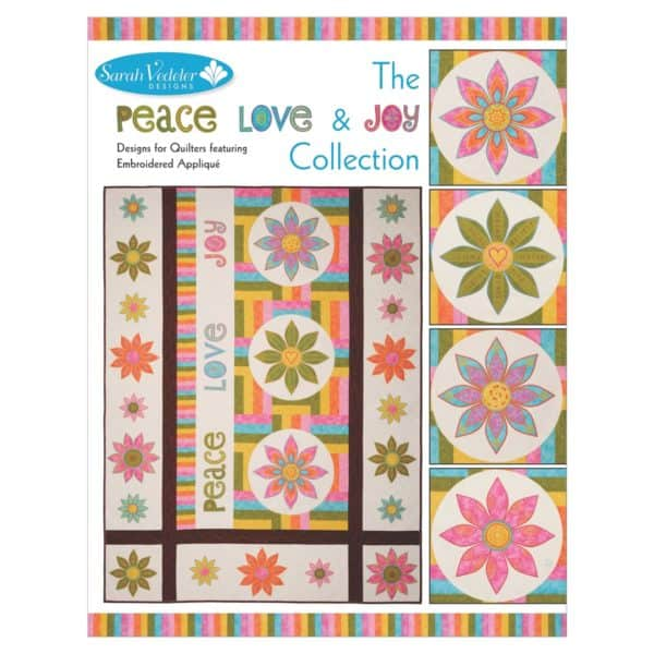 Peace, Love & Joy Collection CD by Sarah Vedeler (PLJ-01) - Front Cover
