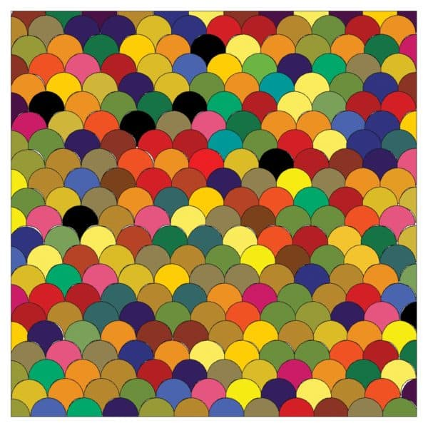 """GO! Sugar Scoops Quilt Pattern - made with the GO! Clamshell - 4"""" Finished (AQ55435)"""