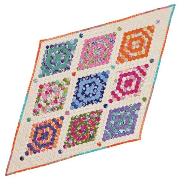 """GO! English Paper Piecing Hexagon-1/2"""" Finished Sides-1782"""