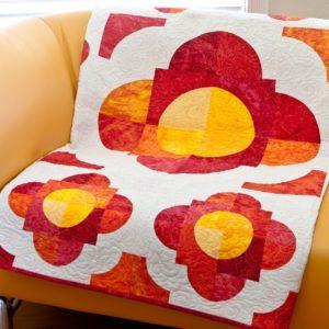 GO! Drunkard's Flower Path Quilt Pattern-2401