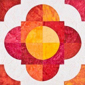GO! Drunkard's Flower Path Quilt Pattern-0