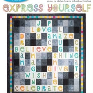 Express Yourself Embroidery Designs CD for GO! By Sarah Vedeler-0