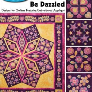 Be Dazzled Embroidery Designs CD for GO! by Sarah Vedeler -0