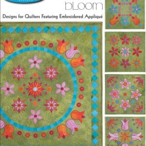 Bloom Embroidery Designs CD for GO! By Sarah Vedeler-0