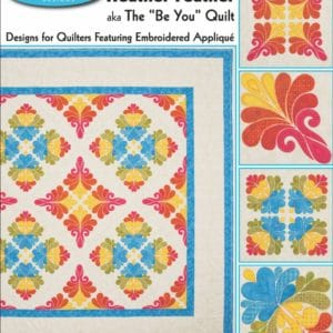 Heather Feather Embroidery Designs CD For GO! By Sarah Vedeler-0