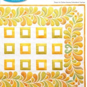 Heather Feather Border Collection Embroidery Designs CD for GO! By Sarah Vedeler-0