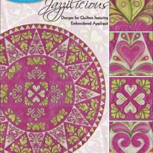 Jazzilicious Embroidery Designs CD for GO! by Sarah Vedeler-0