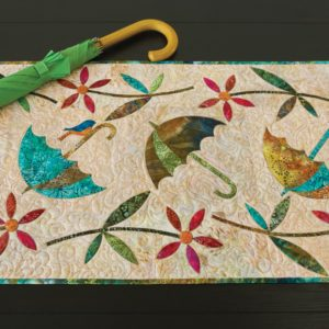 GO! Spring Showers Table Runner Pattern by Edyta Sitar-0