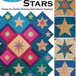 Stars Embroidery Designs CD for GO! By Sarah Vedeler-0