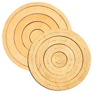 "Bullseye Circles-Odd-1"", 3"", 5"", 7"" for Studio-0"