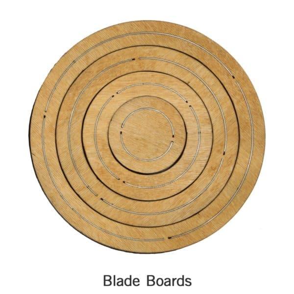 """Bullseye Circles-Even-2"""", 4"""", 6"""", 8"""" for Studio-2810"""