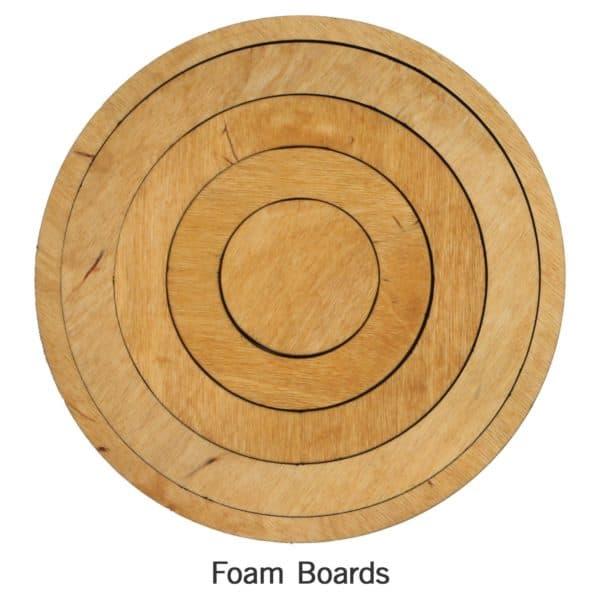 """Bullseye Circles-Even-2"""", 4"""", 6"""", 8"""" for Studio-2807"""