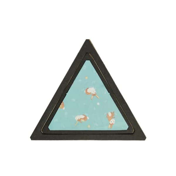 "Bullseye Equilateral Triangles-Even-2"", 4"", 6"", 8"" Finished Sides for Studio-2781"