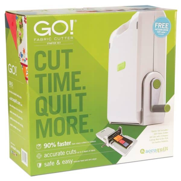GO! Fabric Cutter Starter Set (55100S) - packaging shown (Front)