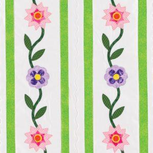GO! Flower Ribbon Wall Hanging Pattern-2838