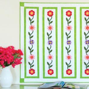 GO! Flower Ribbon Wall Hanging Pattern-0