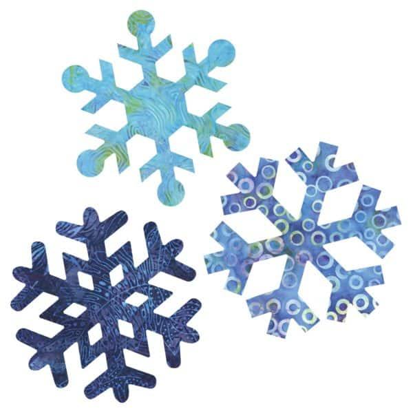 """GO! Snowflakes-7""""-2889"""