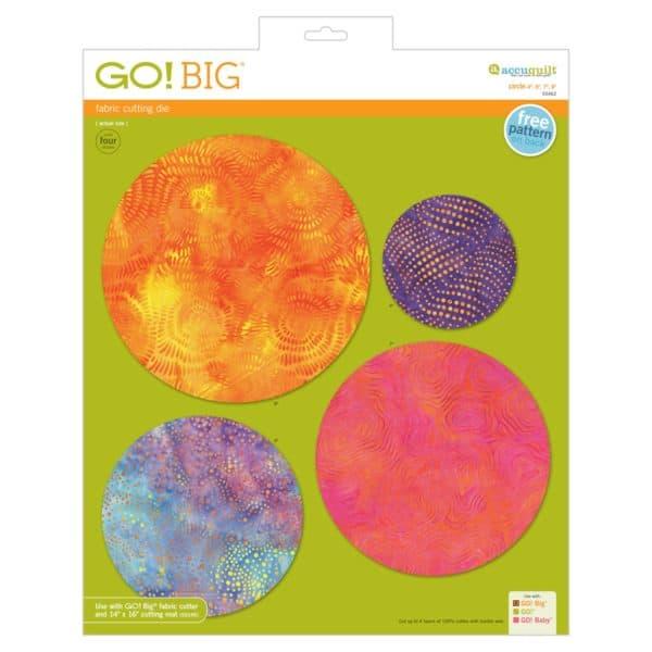 """GO! Big Circle-4"""", 6"""", 7"""", 8""""-0"""