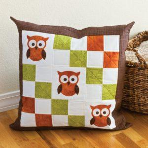 GO! Owl Pillow Pattern-0