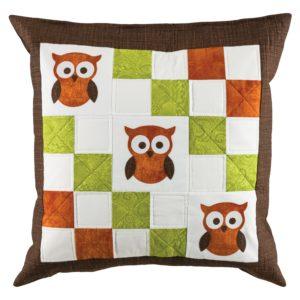 GO! Owl Pillow Pattern-3023