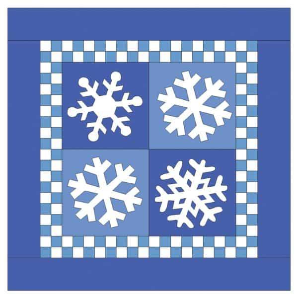 """GO! Snowflakes-7""""-2890"""