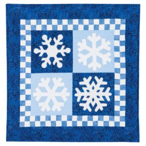 GO! Snowflakes Wall Hanging/Pillow Pattern-2978