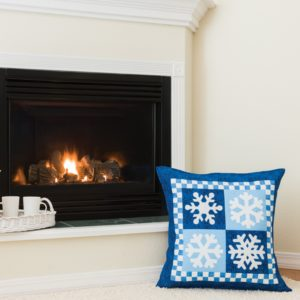 GO! Snowflakes Wall Hanging/Pillow Pattern-0