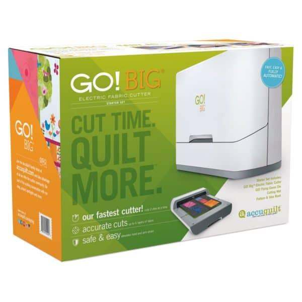 GO! Big Electric Cutter Starter Set Box