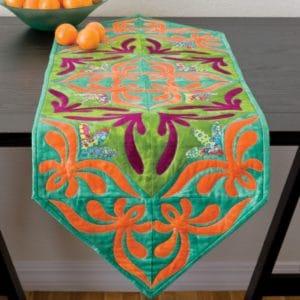 GO! Aloha Arabesque Table Runner Pattern-0