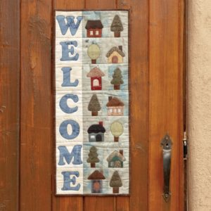 GO! Welcome Home Wall Hanging Pattern-0