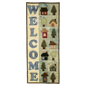 GO! Welcome Home Wall Hanging Pattern-3012