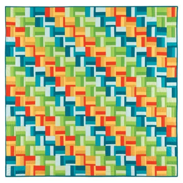 GO! Scrappy Rail Fence Quilt -3034